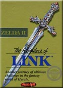 zelda 2, the adventure of link boitier du jeu NES